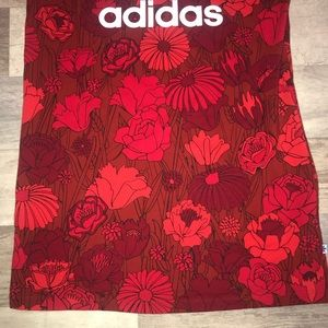 adidas Dresses - NWT Adidas originals floral tank dress (S)